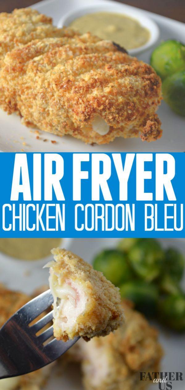 Air Fryer Chicken Cordon Bleu -   19 air fryer recipes chicken boneless keto ideas