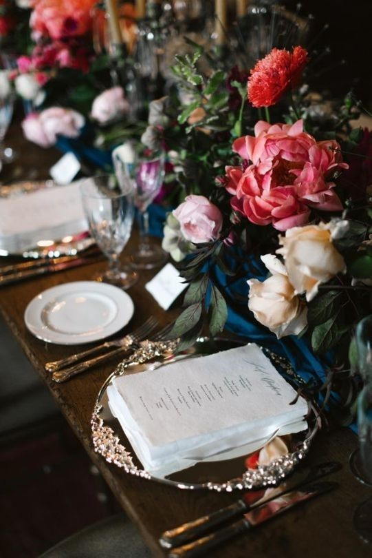 Wedding table: 13 place setting ideas to inspire your big day ...