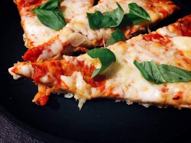 Low carb Pizza - das weltbeste Rezept #lowcarbveggies
