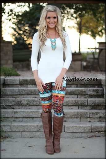 Cowboy Boots and Leggings