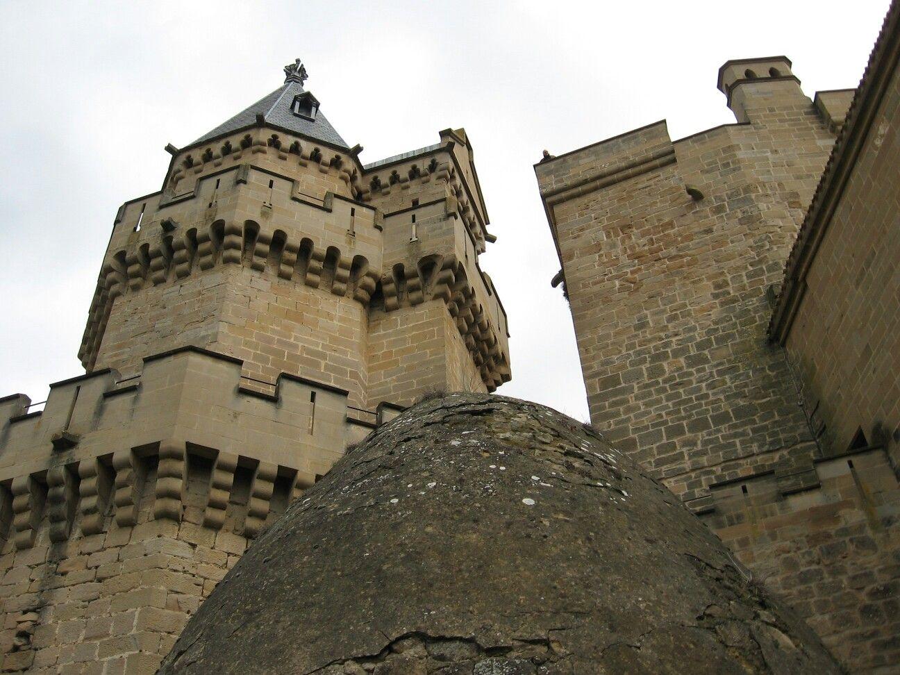 Palacio Real. Olite. Navarra. Spain.