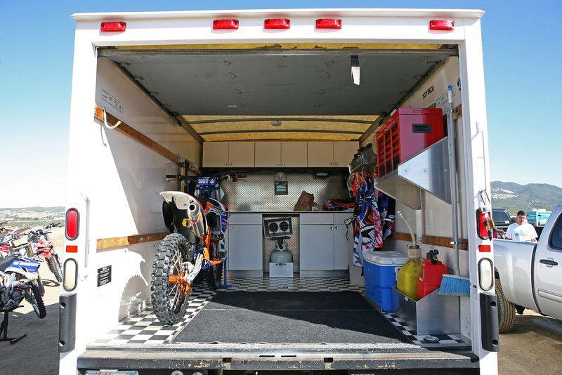 Box Van For Sale Socal Old Timers Mx Bikes Pinterest