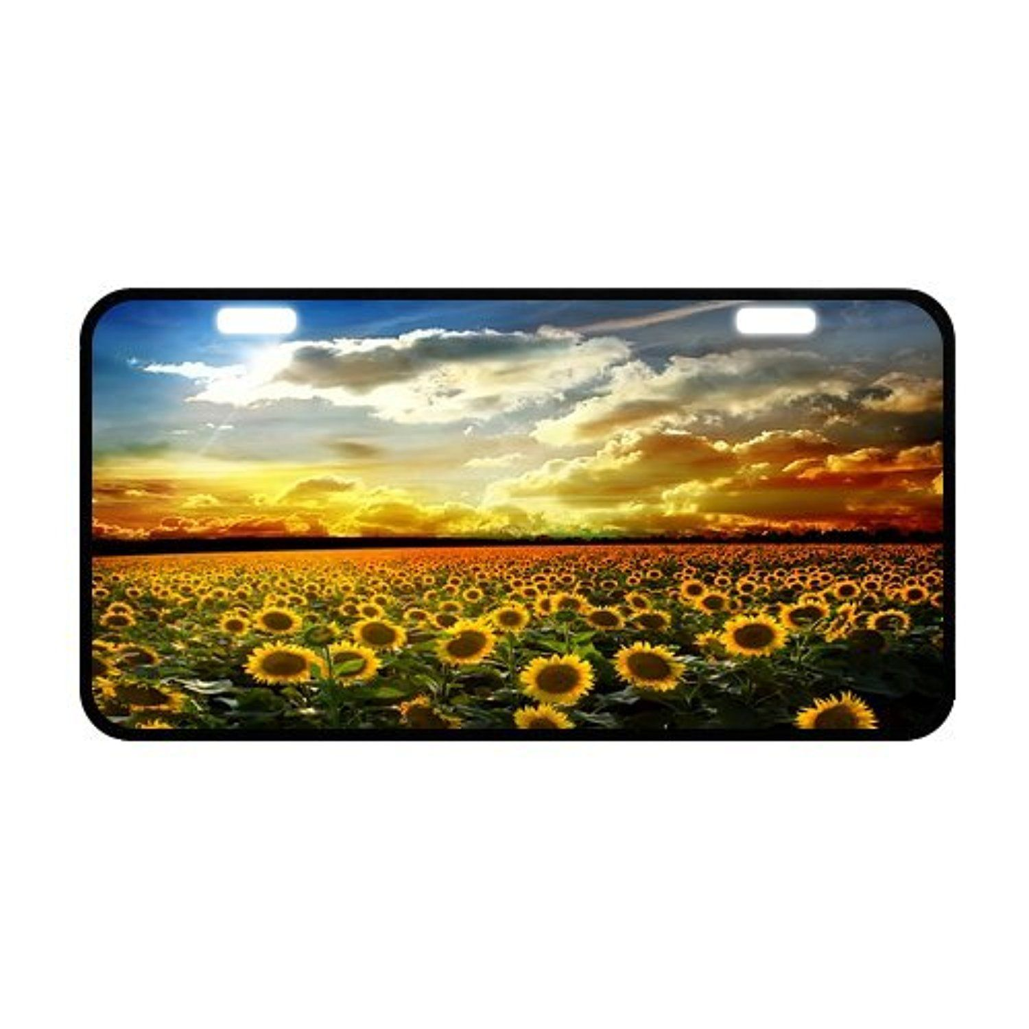 Creative Fashion Best Design Custom Sunflower Flower Landscape Metal ...