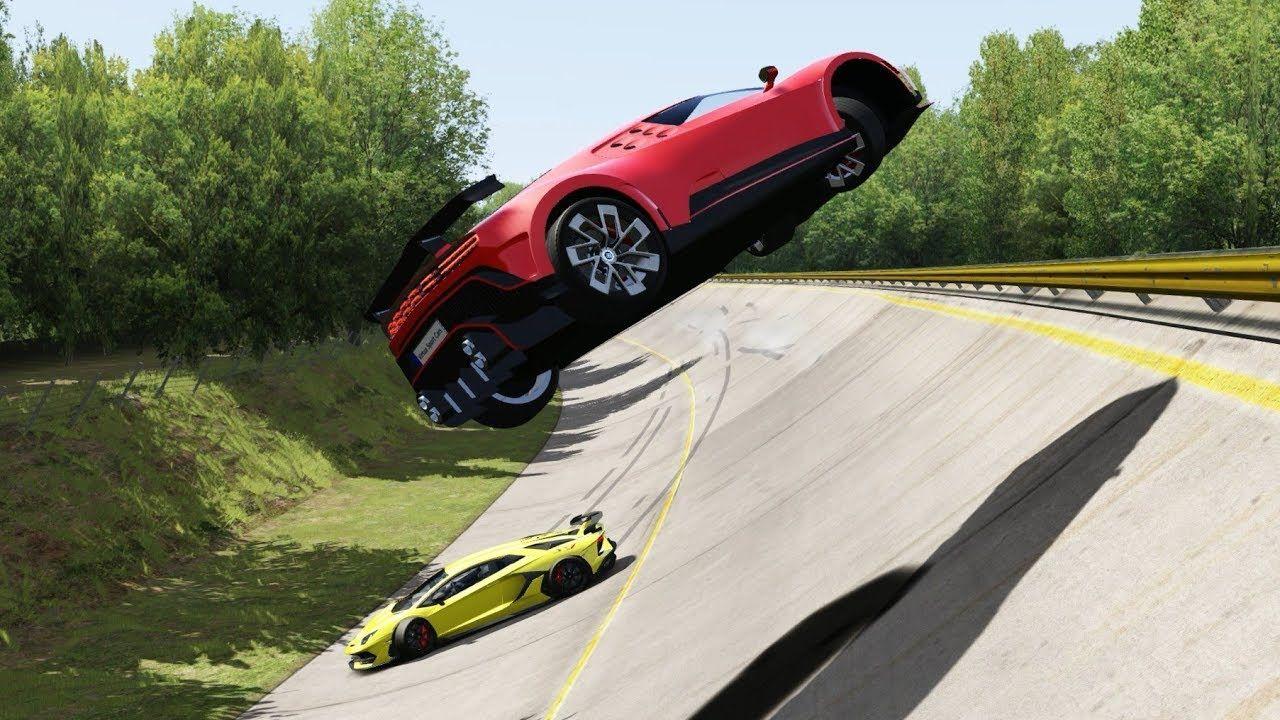 Bugatti Centodieci In Crash Vs Lamborghini Aventador Svj At Monza Full C In 2020 Lamborghini Aventador Ferrari F12berlinetta Bugatti
