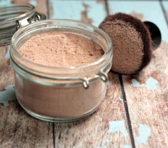 Schminke Selber Machen Selbstgemachtes Foundation Powder Kakaopulver Zimt Mus In 2020 Make Up Selber Machen Gesichtspflege Selber Machen Kosmetik Selber Machen Rezepte