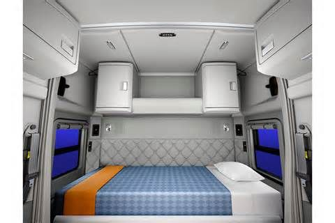 Kenworth Sleeper Cabs Interior View Bing Images