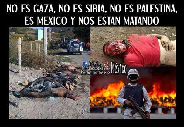 DESDE VENEZUELA, CON EL PUEBLO DE MÉXICO¡¡ #SOSMexico #TodosSomosAyotzinapa #FANBejemploDeCompromiso .@subversivos_