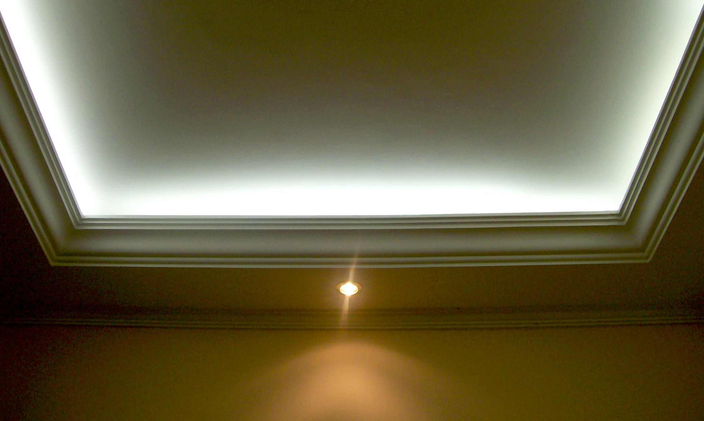Recessed Lighting Tips : Recessed lighting to show off architectural elements