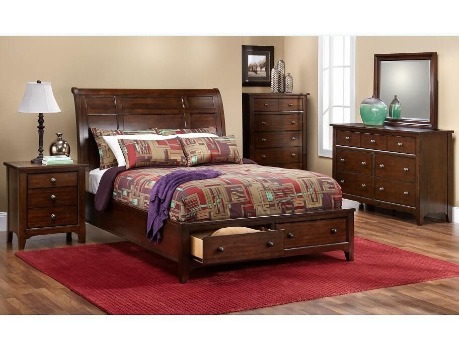 Slumberland Kona Collection 5pc Queen Storage Package Furniture New Furniture Room