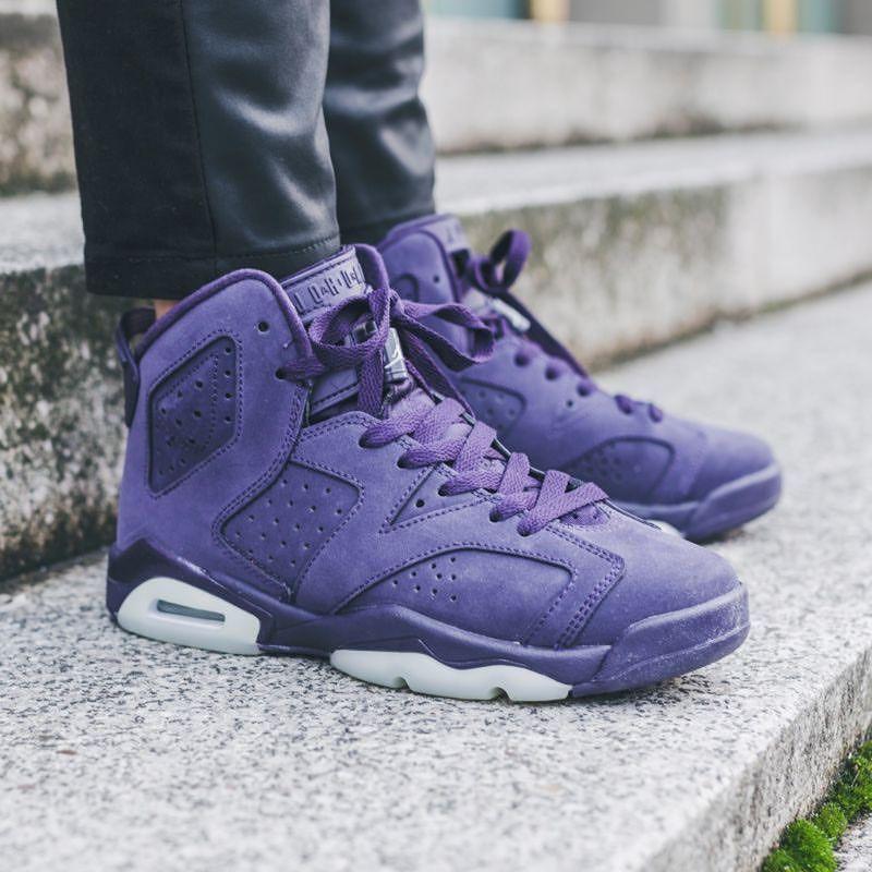 huge selection of 31318 e3b07 Nike Air Jordan 6 Retro GG: Purple Dynasty | SHOES <3 | Nike ...