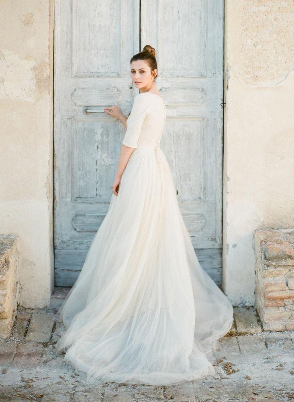Romantic Italian Villa Wedding Inspiration Modest Wedding