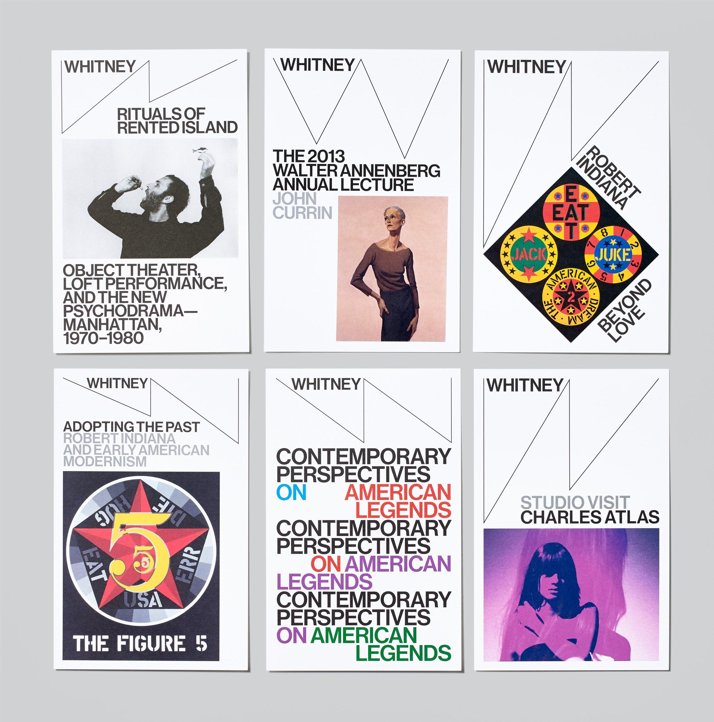 Design Exhibitions 2014 graphics: whitney museum identity - designedexperimental