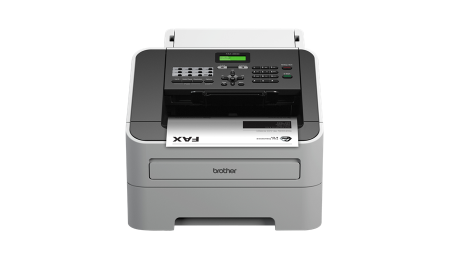 FAX2840 Compact Laser Fax Machine with print and copy