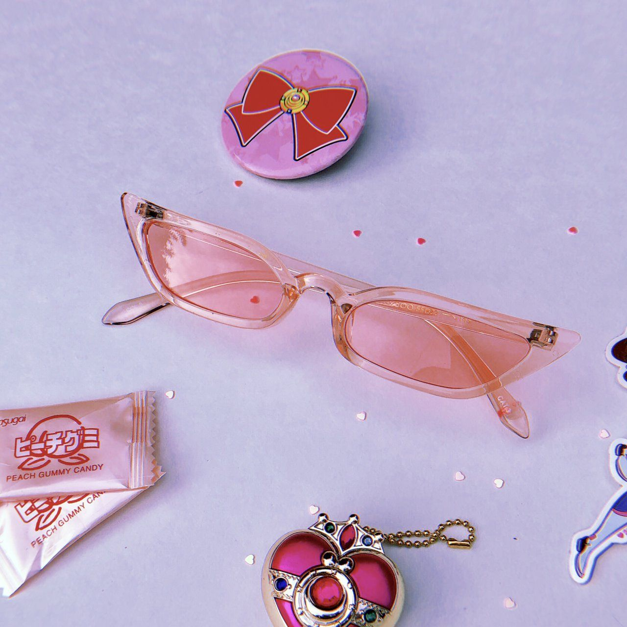 ed0ad4ab2ea9a Really cute thin pointy transparent cateye in a - Depop Georgina D angelo  –– STYLE. press the   visit  link to go to the original source.