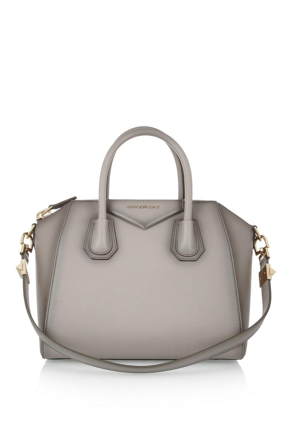 154b3c1f5c Givenchy | Small Antigona bag in mushroom leather | NET-A-PORTER.COM ...