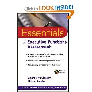 Essentials Of Executive Functions Assessment Essentials Of