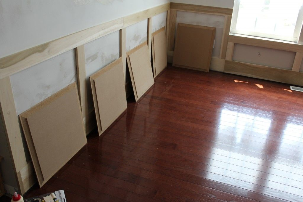 How To Make Your Own Raised Panel Molding Wainscoting