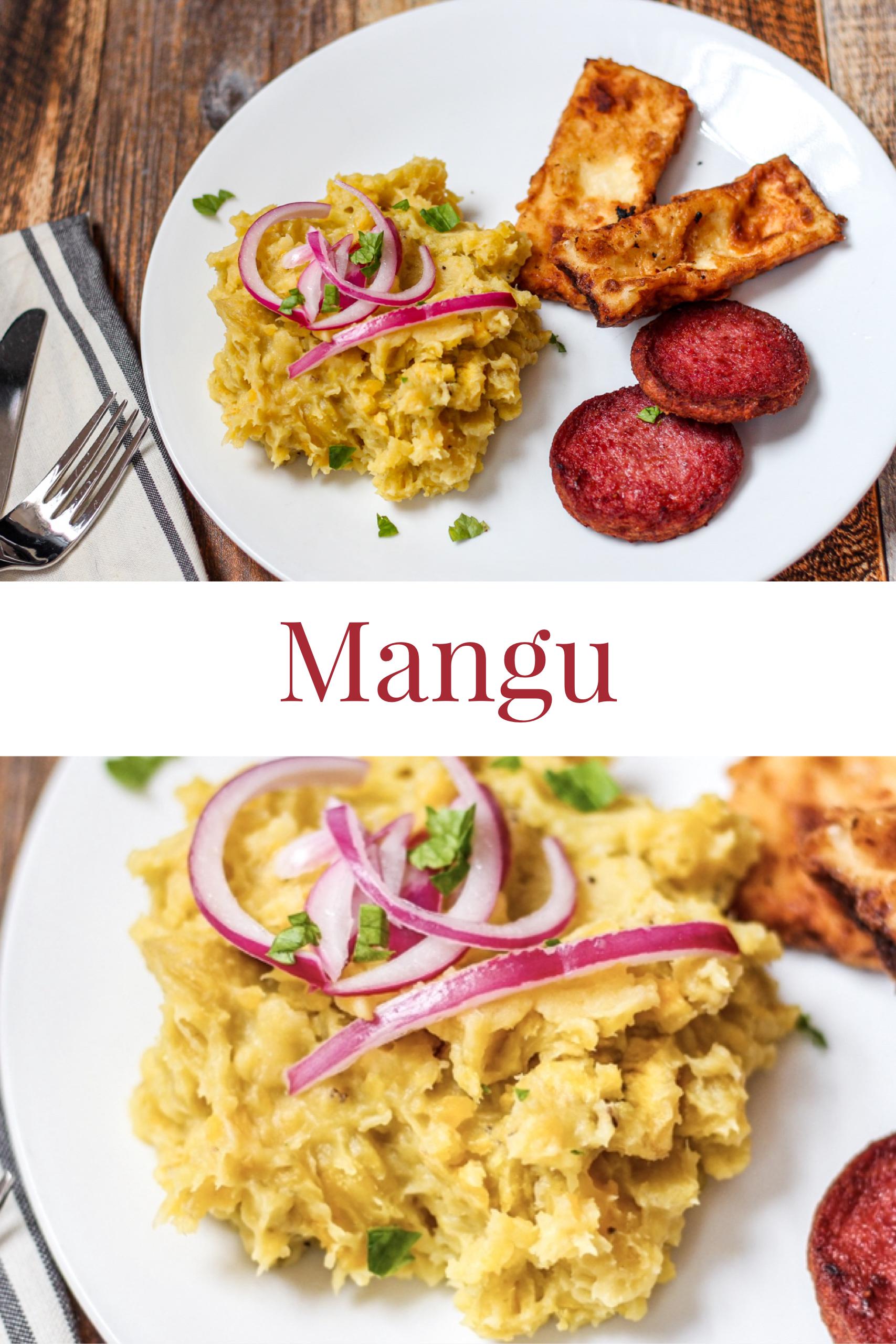 Mangu A Seasoned Greeting Easy Dominican Breakfast Recipe Dominicano Recipes Mangu Dominicano Recipe Food