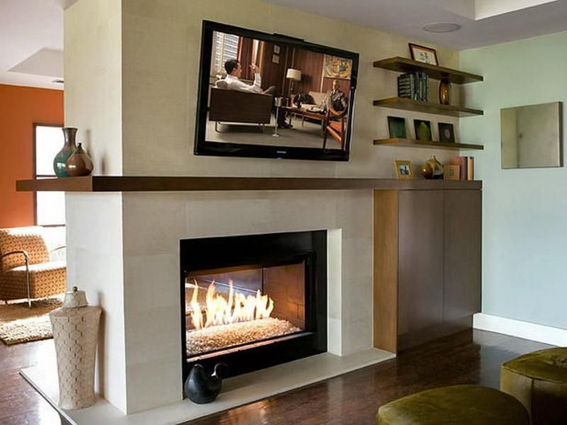Modern Double Sided Fireplace Contemporary Fireplace Fireplace