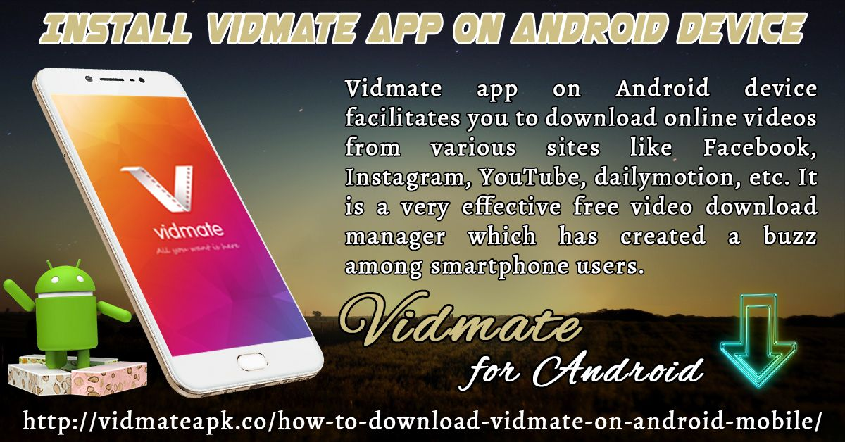 Pin by Vidmate Apk on Installation of Vidmate Video Downloader For