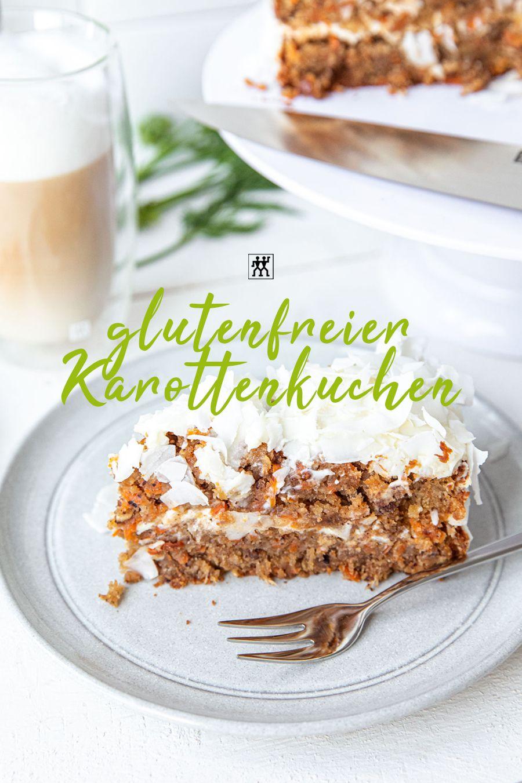 Glutenfreier Karottenkuchen | ZWILLING Online Shop