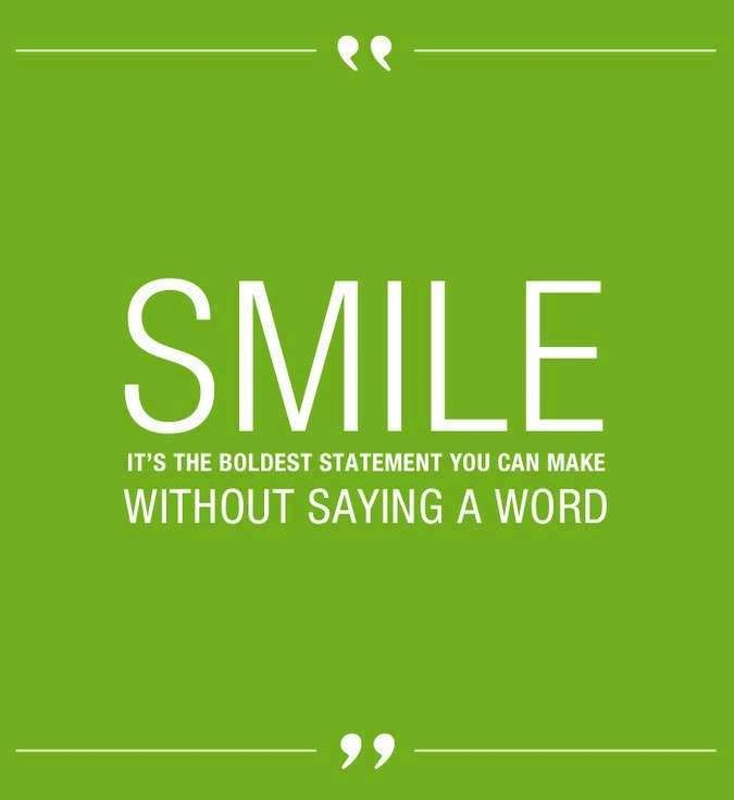15 Reasons To Smile More Dental Office Smile Quotes Quotes Smile