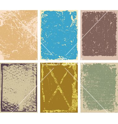 Grunge backgrounds vector 900408 - by digiselector on VectorStock®