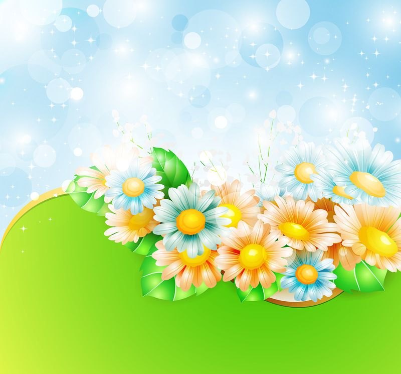 Spring flowers background pinterest flower backgrounds arte backgrounds mightylinksfo