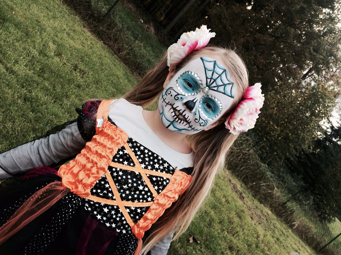 Mexicanskull makeup