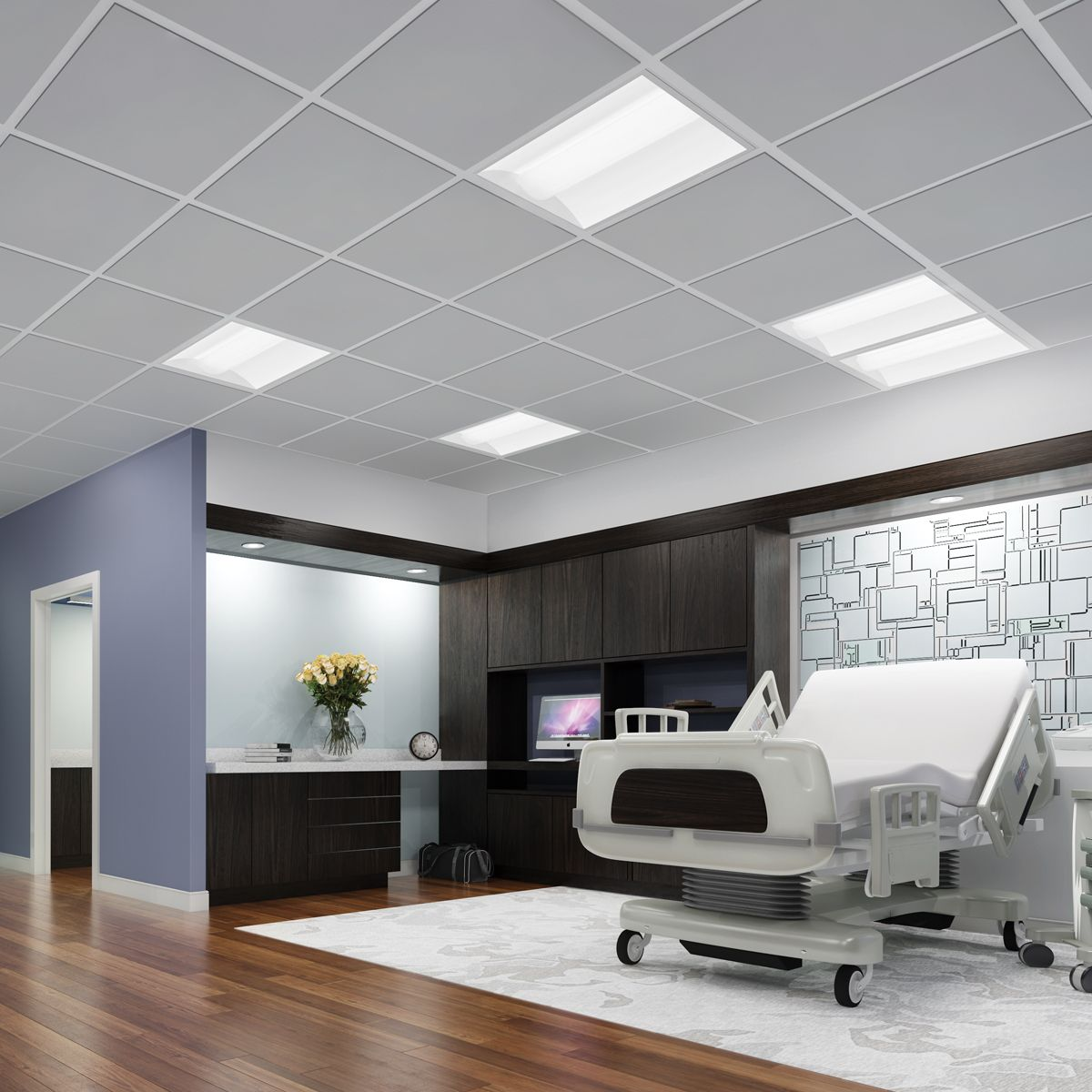 Affordable LED Lighting For Healthcare. Metalux Cruze. Installation  Flexibility As Well!