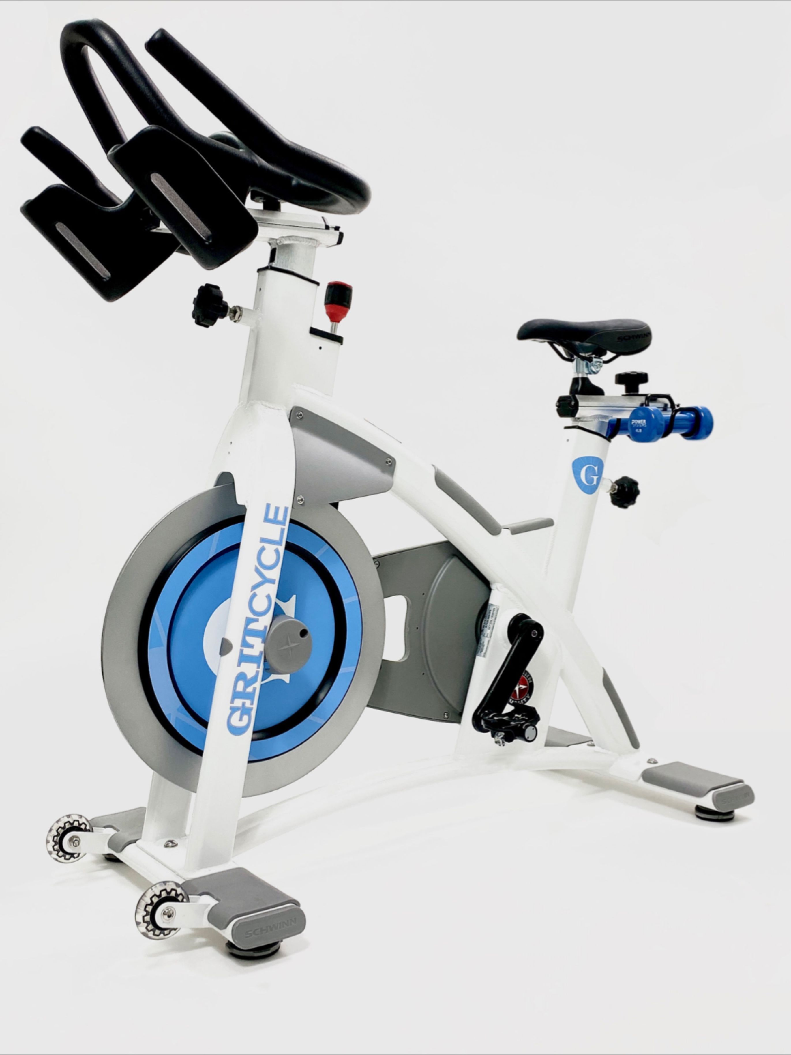 The Custom Indoor Cycles Team Just Completed An Order Of Custom Designed Schwinn Ac Performance Plus Spin Bik Indoor Cycling Bike Cycling Design Cycling Studio
