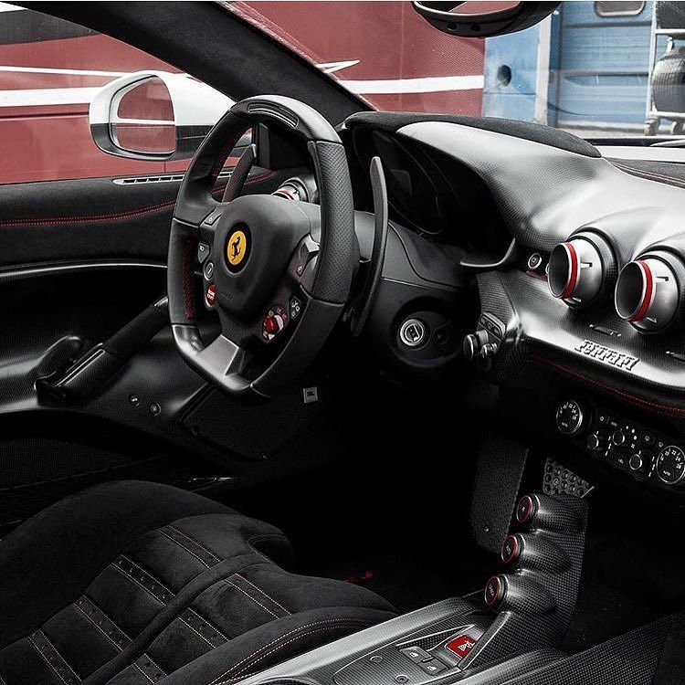 Ferrari F12TDF Interior Follow @jcartu To Check Out His Gumball3000  Adventures And New Epic