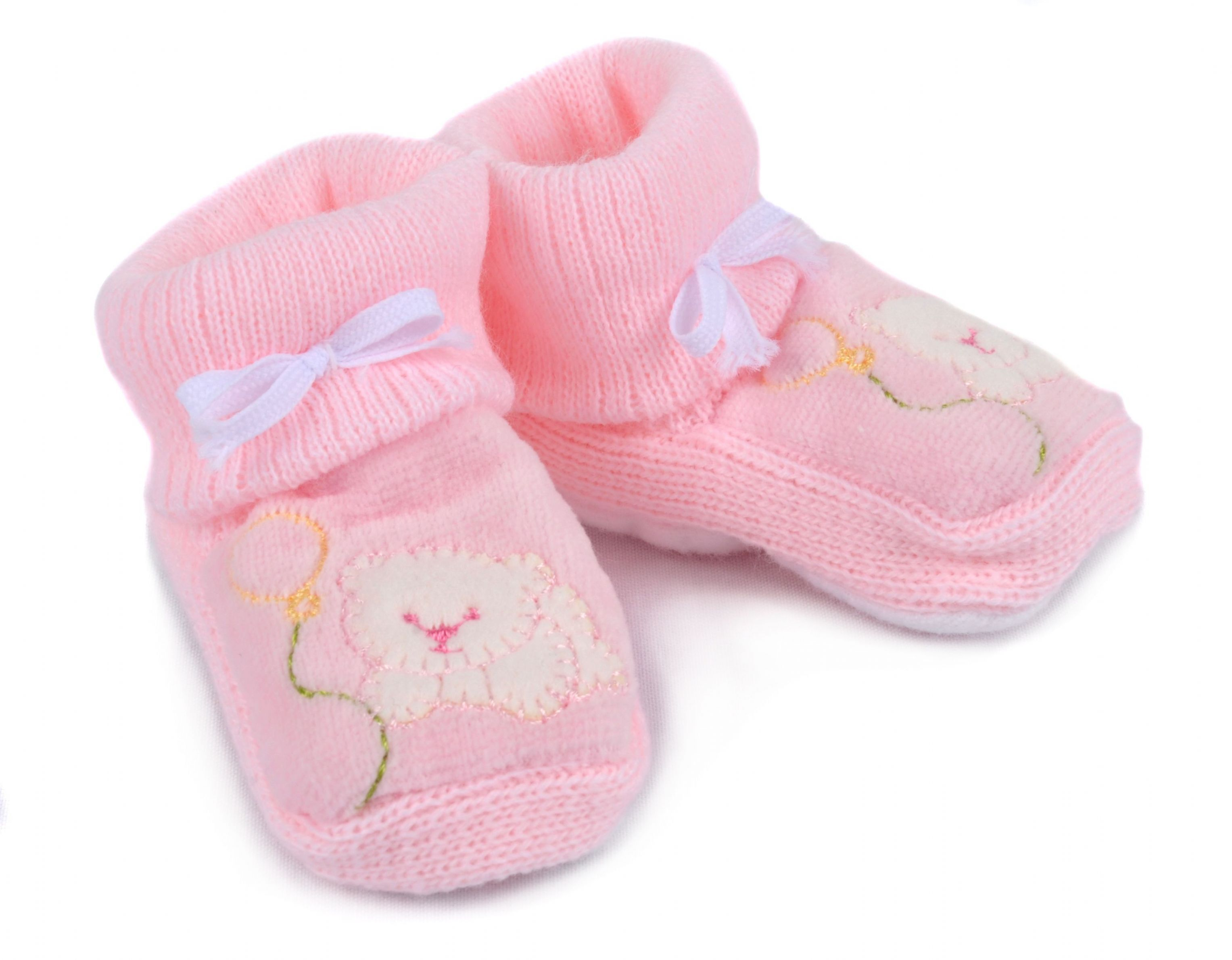 pink baby booties | Baby Booties in Pink | Places to Visit ...