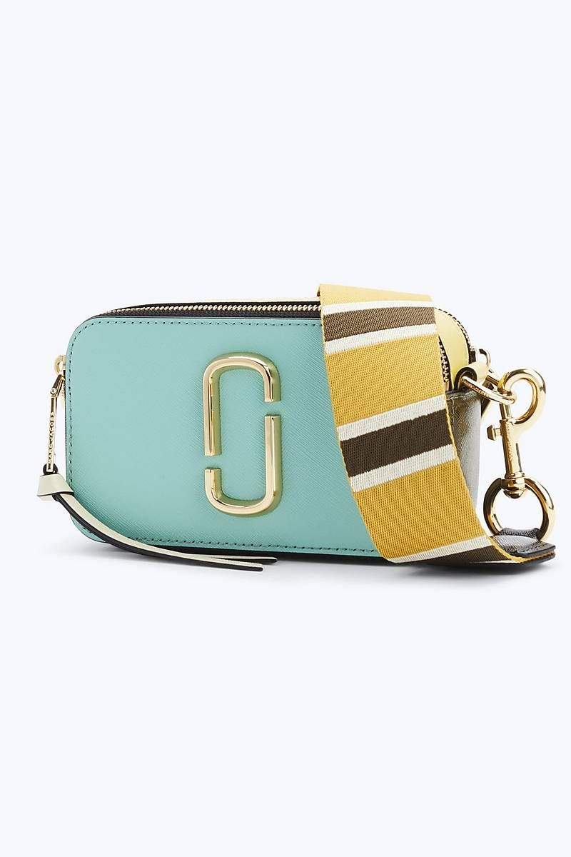 532446478500 Marc Jacobs Snapshot Small Camera Bag in Surf