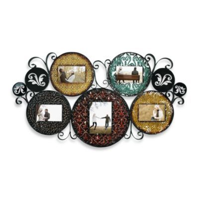 Multicolored Collage Picture Frame Bedbathandbeyondcom This Metal