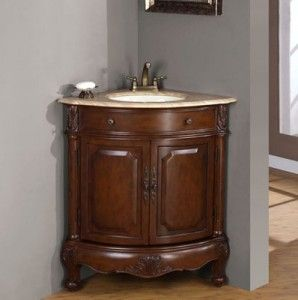 Image Gallery For Website Corner bathroom vanities great option for a small bathroom
