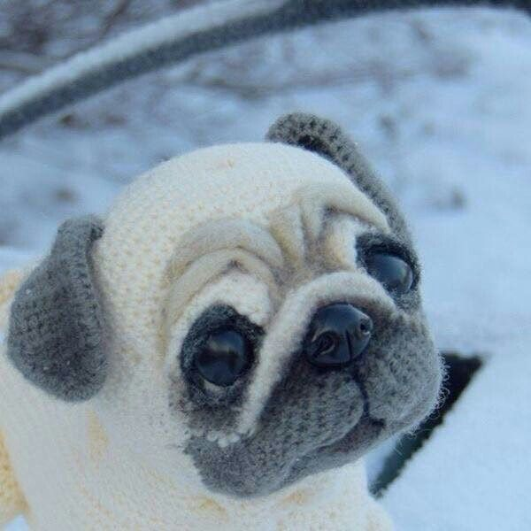 Pug Amigurumi Dog pattern by Helen Brady | Crochet amigurumi free ... | 600x600