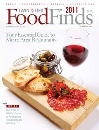 The 2011 Cover Eat Food Minneapolis Restaurants