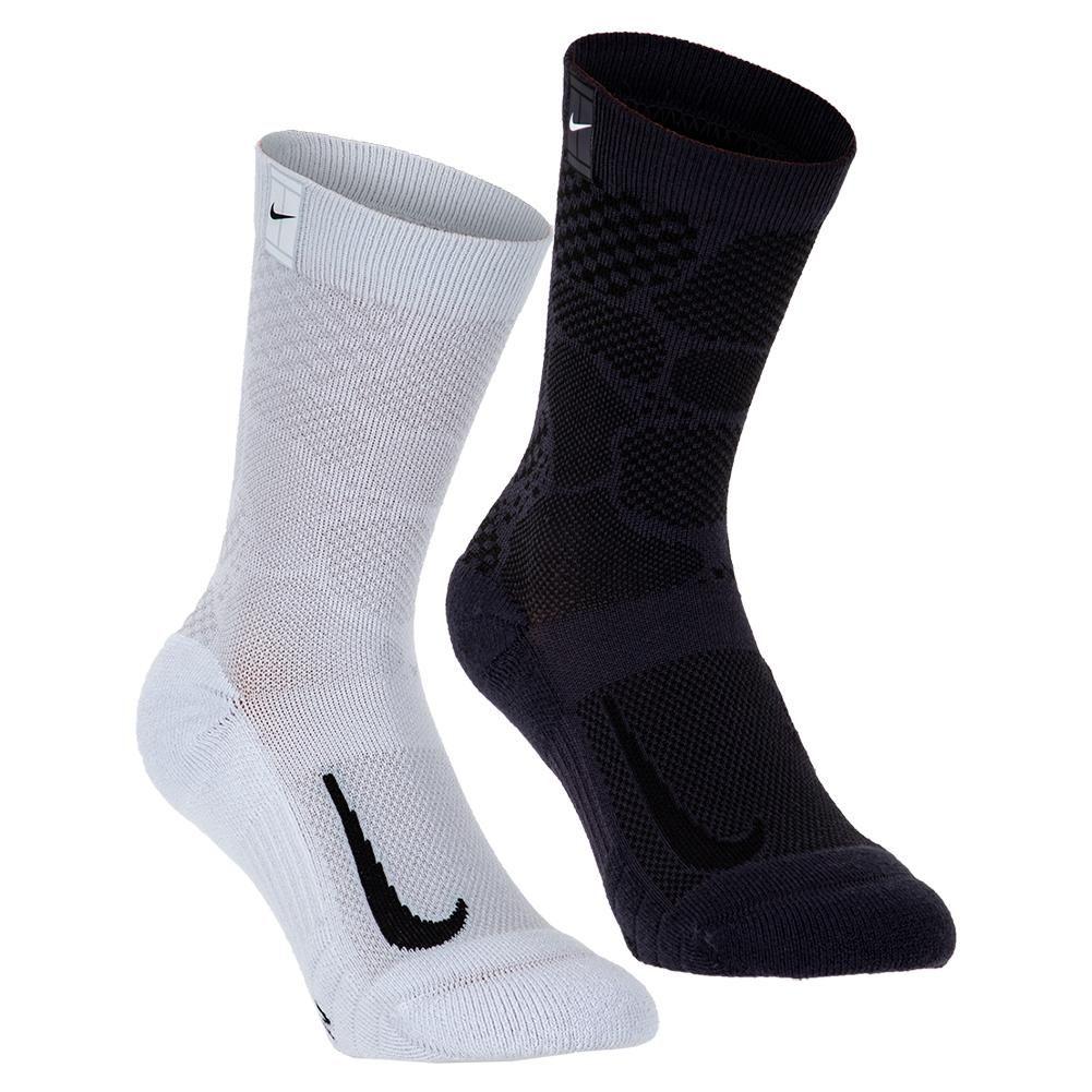 Nike Court Multiplier Max Tennis Crew Socks 2 Pairs Tennis Express In 2020 Crew Socks Tennis Socks Socks