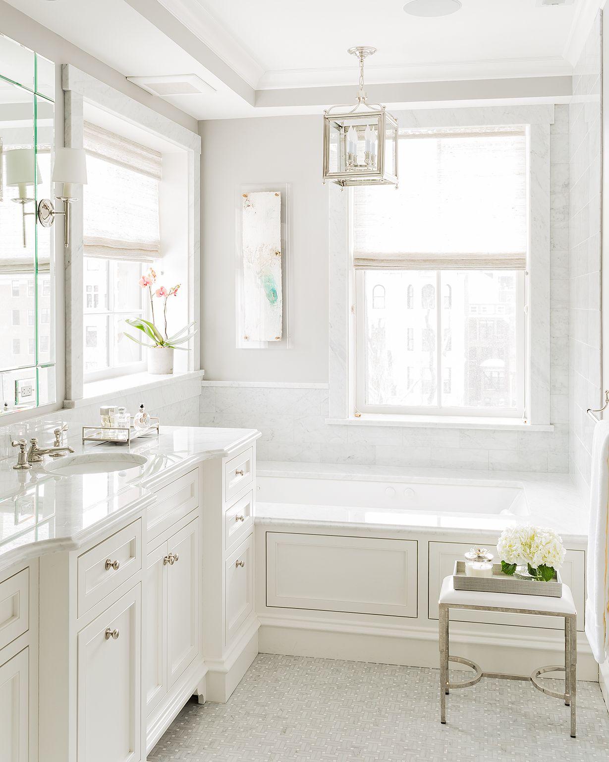NAH Designs | New Traditional | Master Bathroom | Luxury | Bathrooms ...