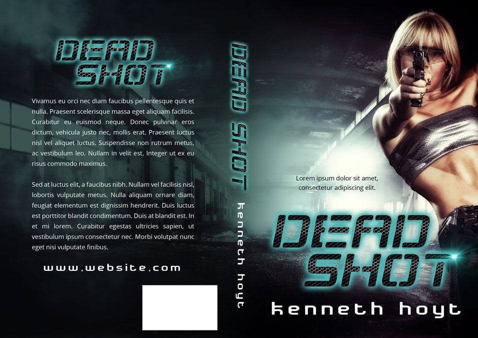 Dead Shot - Action Book Cover For Sale at Beetiful Book Covers