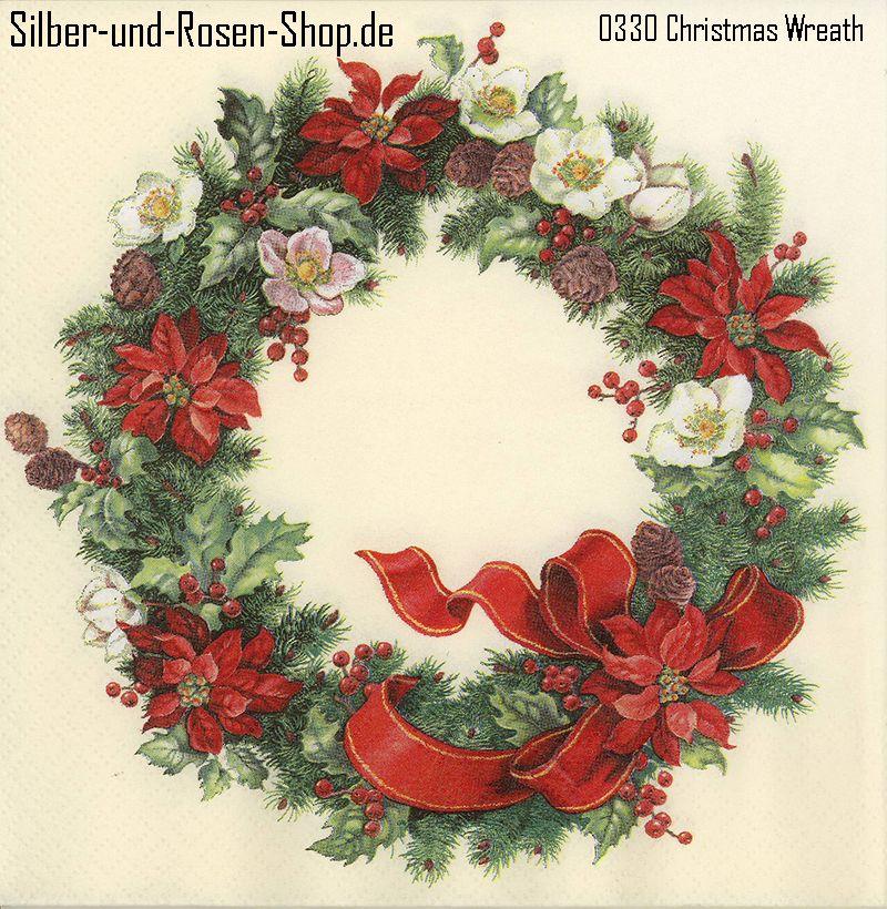 20 papierservietten adventskranz christmas wreath weihnachten pinterest. Black Bedroom Furniture Sets. Home Design Ideas
