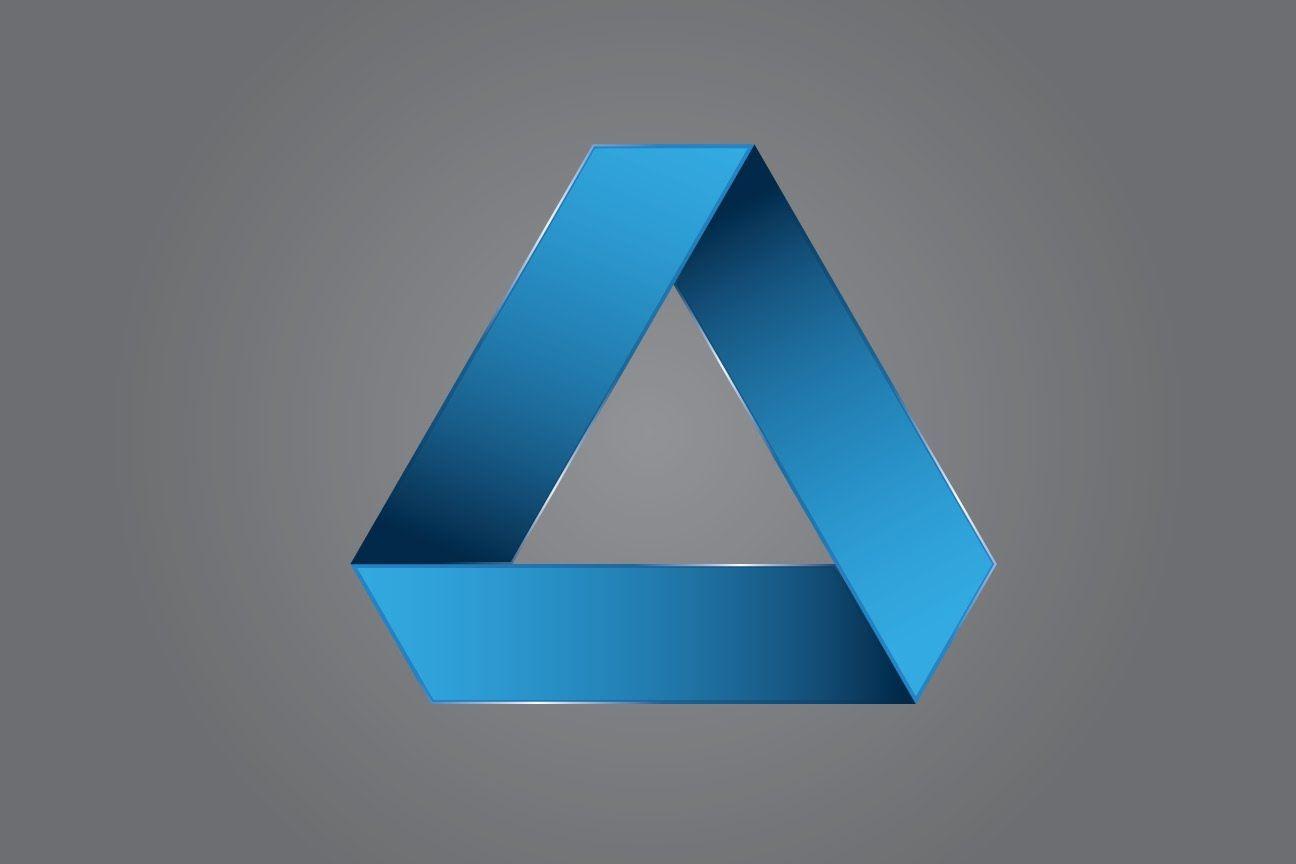 Illustrator Tutorial 3d Logo Design Triangle Logo Design Tutorial Illustrator Tutorials 3d Logo Design