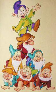 Los Siete Enanitos Para Imprimir Disney Cartoon Characters Disney Images Disney Cartoons