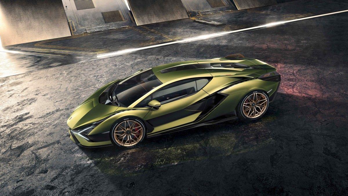 Lamborghini Reveals Its Hybrid Hypercar The Sian With Images Super Cars Lamborghini Models Lamborghini