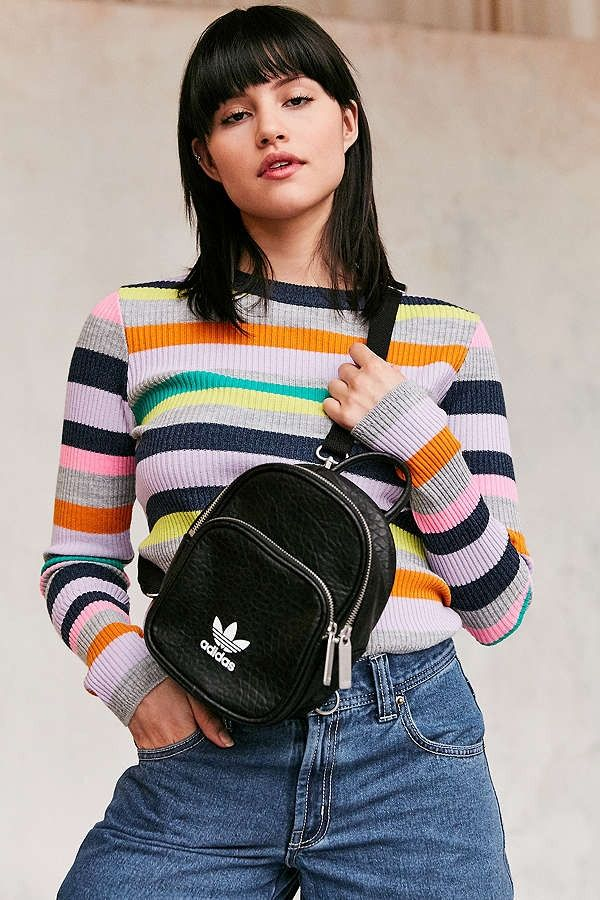 a66640666116 This adidas Originals Mini Backpack Pretty Much Goes with Everything
