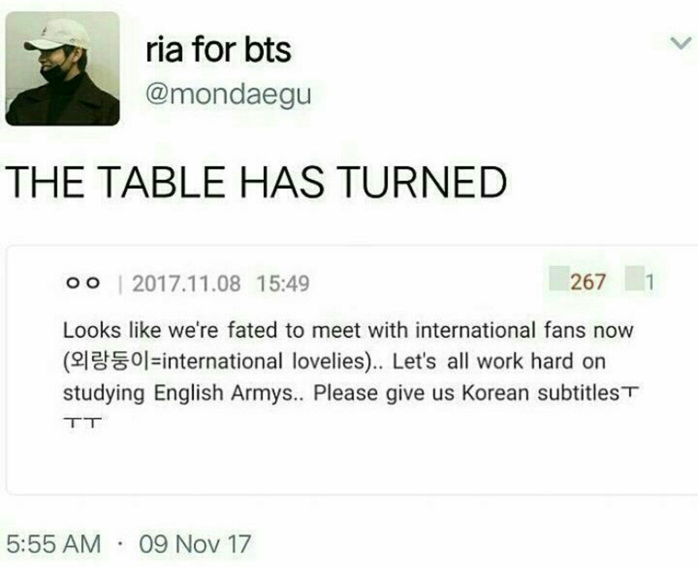 Yall K Armys Call Us International Lovelies And We Aigoo 2gb