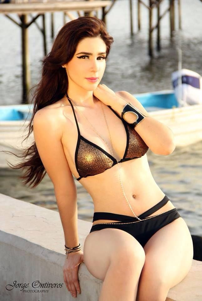 Bikini girl in mexican