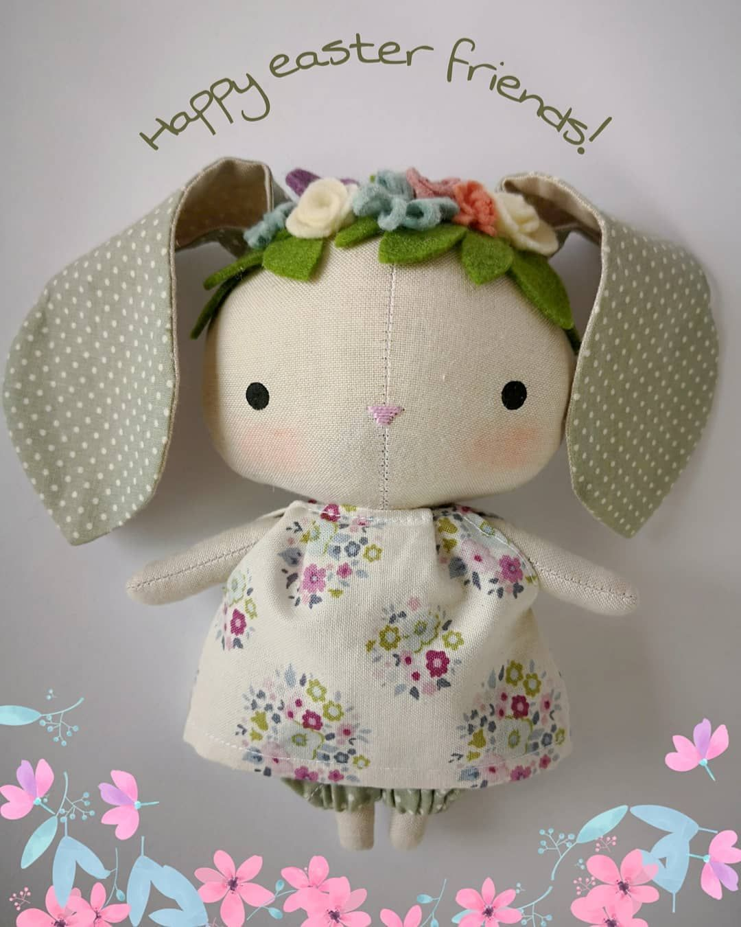 Happy easter friends! #mbdesings #handmade #handmadedoll ...