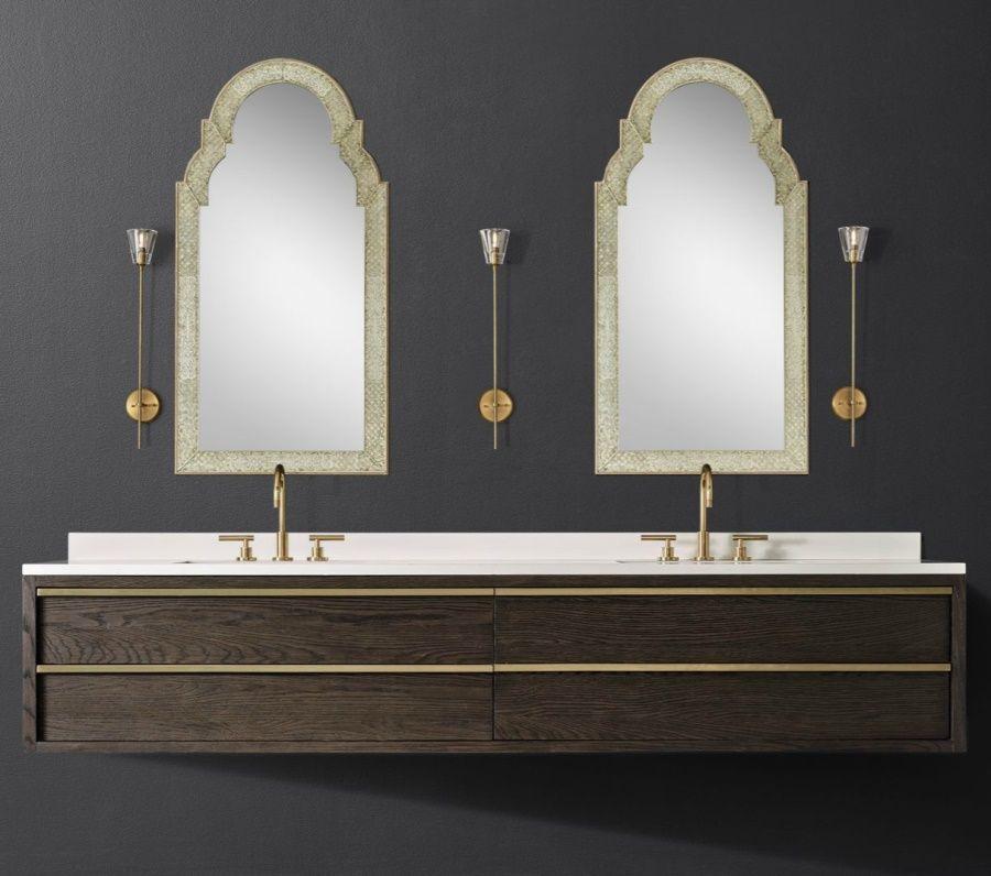 The Luxury Look Of Highend Bathroom Vanities  Floating Vanity Gorgeous Bathroom Vanities Luxury Inspiration Design